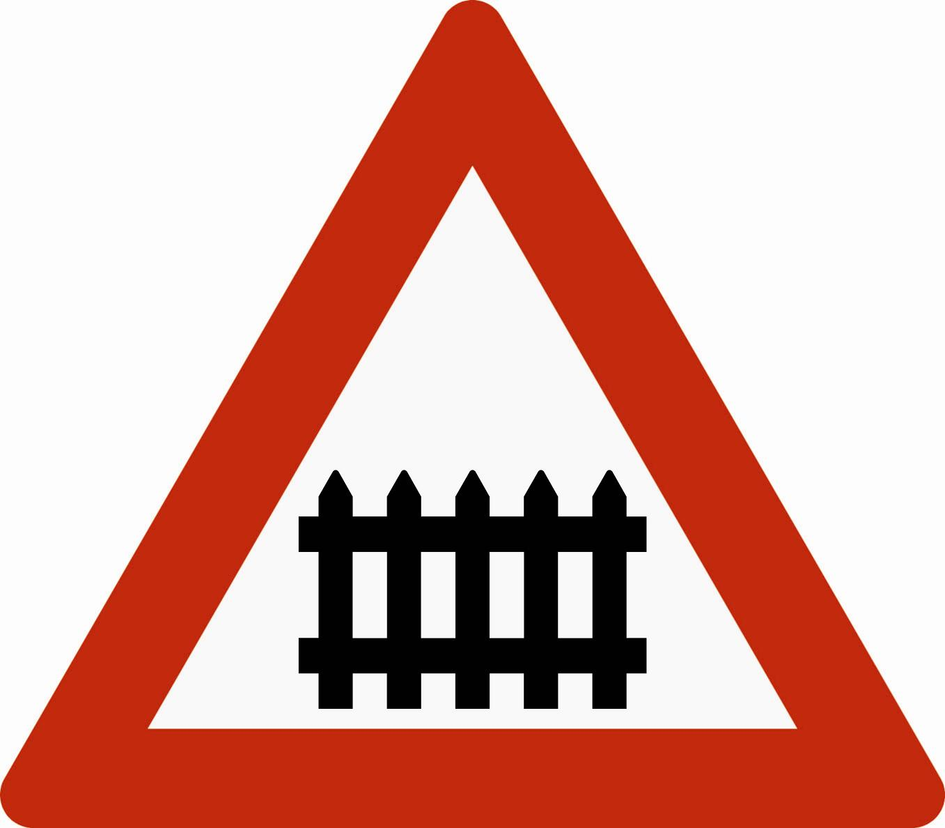 Advarsel Skilt Trafikkskilt No